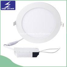 LED redondo 3-24W panel de luz para el Ministerio del Interior comercial