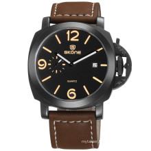 skone mens fashion leather watch elegance fashion watches