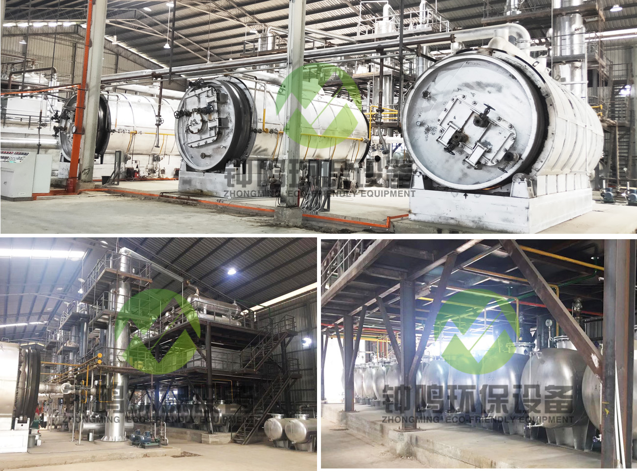 Waste Oil Cleaning System Management Equipment