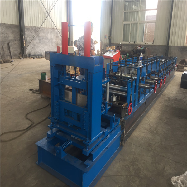 aluminum purlin panel roll forming machine