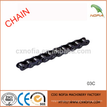 Short pitch stainless steel roller chains 03C