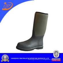 Мода неопрен водонепроницаемый рабочие ботинки (66450)