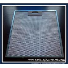 Filtros de la campana extractora de la cocina de acero inoxidable / aluminio