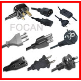Power Cord for UL, SAA, CE, VDE, BS, PSE (FC-16881)