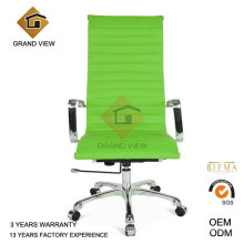 Green Leather Classical Chair (GV-OC-H306)