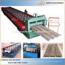Metal trapezoidal sheet floor deck roll forming machine/floor decking cold roll former machinery