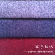 Tissu en velours côtelé en nylon avec renfort en relief pour la tapisserie d'ameublement