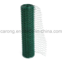 Galvanisiertes / PVC-sechseckiges Maschendraht-Maschendraht-Fechten