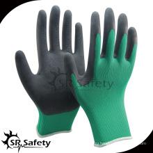 SRSAFETY 13g латексные перчатки с мягким лайнером / садовая перчатка / рабочая перчатка