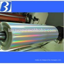 Laser holographic thin film