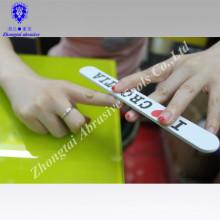 Lime à ongles jetable / Lime à ongles imprimée par coutume / lime à ongles pour le bien-être d'entreprise