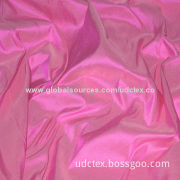 Polyester Fine Taffeta Fabric, Used for Bags, Linings, Tents, Towels, Umbrellas, Curtains