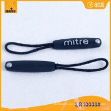 Heißer Verkaufs-Nylon-Reißverschluss-Abziehvorrichtung mit kundenspezifischem Firmenzeichen LR10008