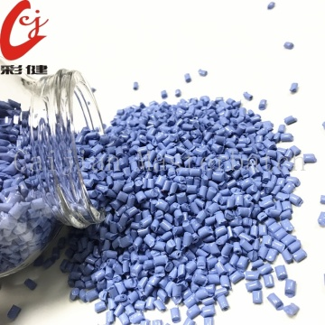 Bright Blue Masterbatch Granules