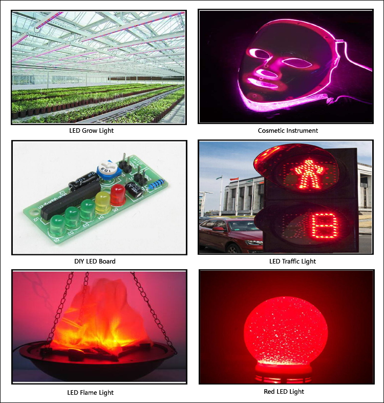 Red LED Application