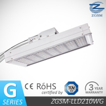 210W No Glare LED Street Light with CE RoHS TUV