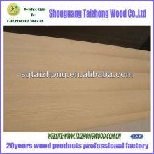 Poplar Core Teak Veneer Plywood
