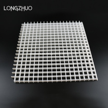 Rejilla de aire cuadrada de plástico Rejilla de aire
