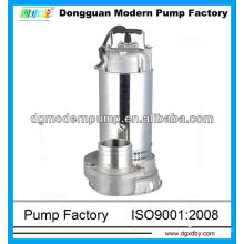 QD series precision casting stainless steel submersible sewage pump