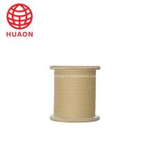 Câble en aluminium isolé recouvert de papier pour câble téléphonique