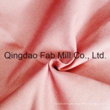 Organische Baumwolle / Leinen Twill Stoff für Kleidung (QF16-2674)