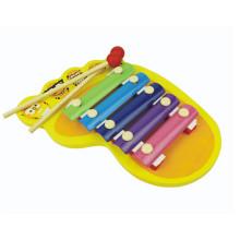 instrumentos musicais baratos xilofone de madeira