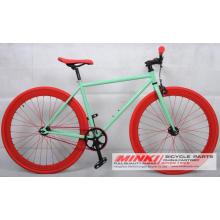 Bicicleta de bicicleta de velocidade única Fixed Gear Frame Fixie Bicycle