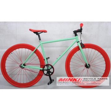 Односкоростной велосипед с фиксированным зубчатым колесом Fixie Bicycle