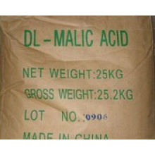 White Crystal 99% Dl-Malic Acid for Food Grade (CAS No.:  617-48-1)