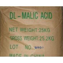 Белый кристалл 99% Dl-яблочная кислота для пищевых продуктов (№ КАС: 617-48-1)