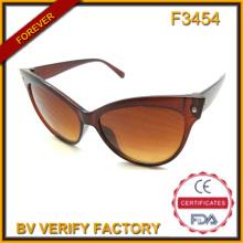 Caliente venta gato ojo gafas de sol para mujeres a granel compra de Wenzhou fábrica (F3454)