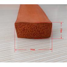Joint en caoutchouc mousse de silicone étanche