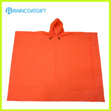 Lightweight EVA Rain Poncho Orange Color EVA Rain Cape Rvc-004