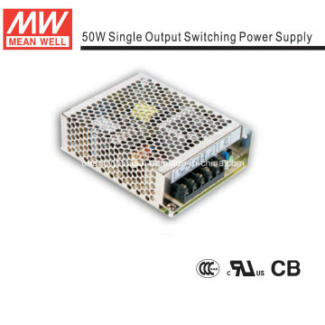 Mean Well 50W Open-Frame Power Supply (NES-50)