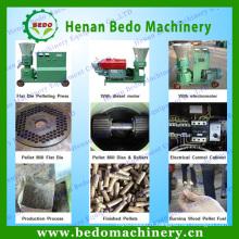 2014 le plus populaire Flat die rouleau sciure de bois moulin à granulés machine 008613253417552