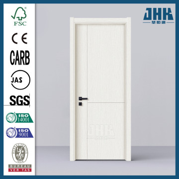 JHK Popular PVC Panel Interior Bathroom Door