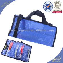 FSBG002 personnalisé imprimé poisson leurre fermeture à glissière sacs sac en plastique pour pêche leurres jupes leurre sac