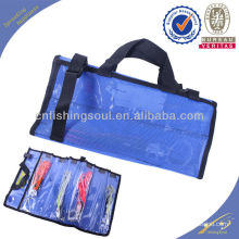 FSBG002 custom printed fish lure zip lock bags plastic bag for fishing lure skirts lure bag