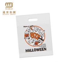 Alibaba China Wholesale Custom Design Printed Plastic Halloween Bags for Promotion
