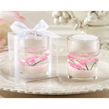 OEM Customized for Glass Candles glass jelly candle Xmas Scented Candles supply to Russian Federation Wholesale