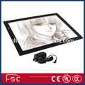 Dimmable LED Slim Acrylic Drawing Board LED Light Up Drawing Board