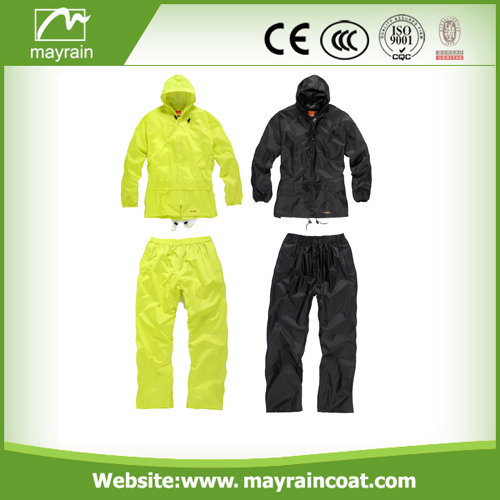 Rain Suit With A Bag