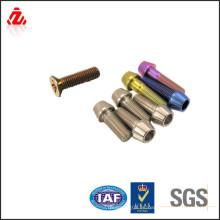 De buena calidad coloridos titanio tornillo cónico