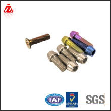 good quality colorful titanium taper screw
