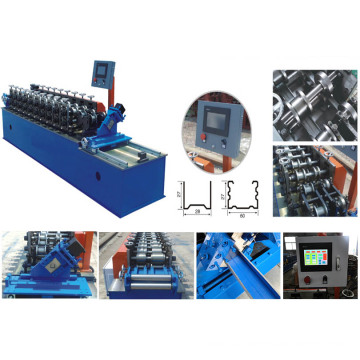 Kancing Logam Profil Drywall Roll Forming Equipment