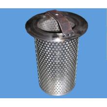Fácil de limpar filtro de cesta de malha de arame pesado