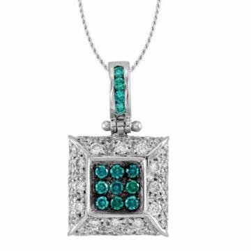Vente en gros 925 bijoux en argent sterling avec pendentifs CZ pour femmes