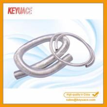 Manchon de protection thermique en fibre de verre aluminium