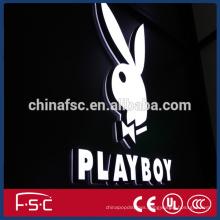 Blister Silk-screen Indoor Led sign billboard/led alphabet letter