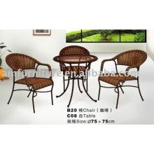 modern plastic rattan outdoor furniture